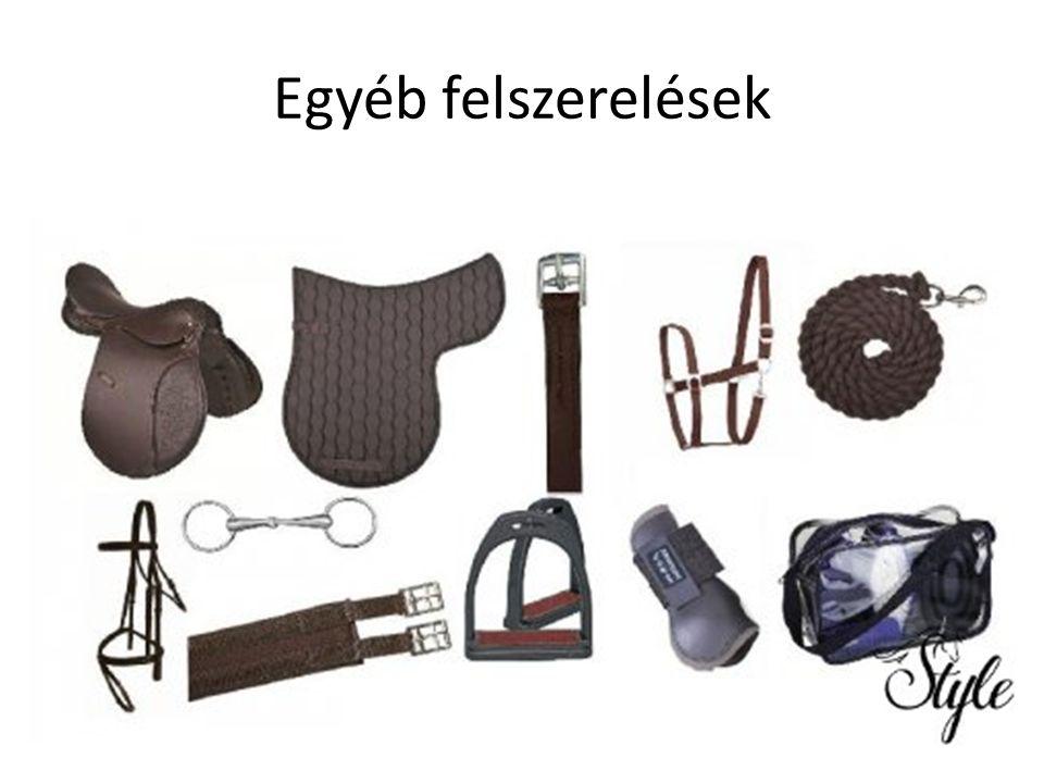 Egyéb felszerelések