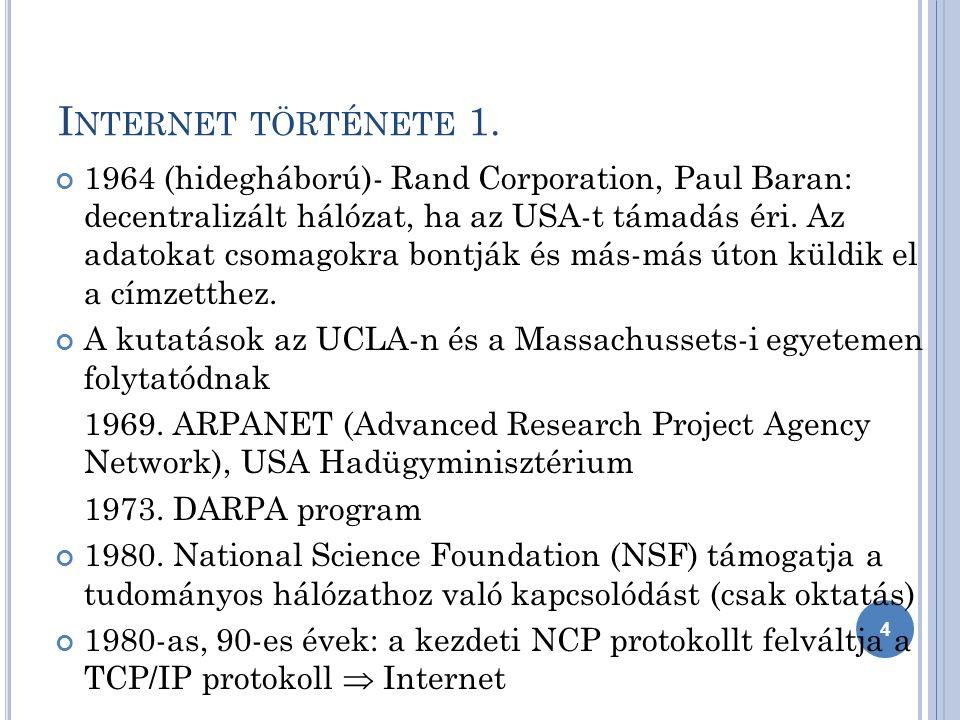 3) A hálózatok ereje meglovagolható 45