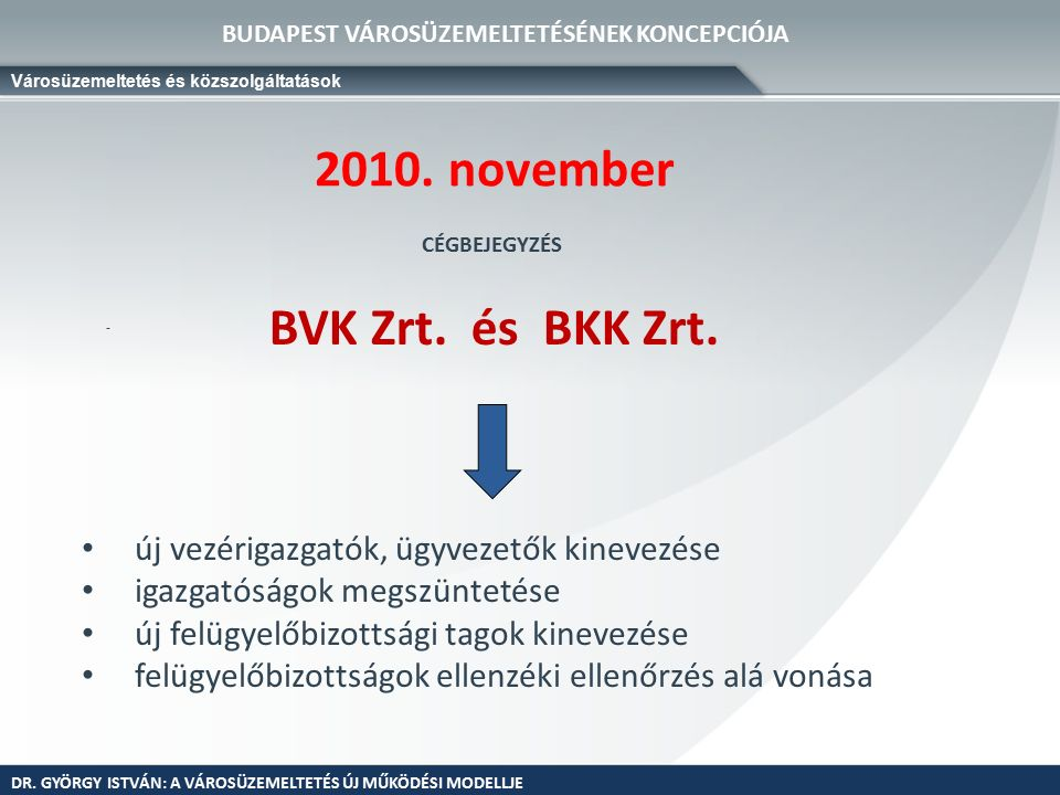 - BVK Zrt. és BKK Zrt. 2010.