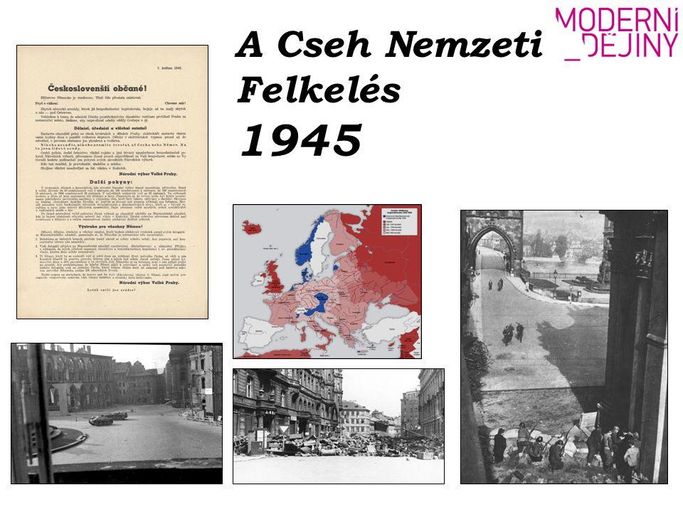 A Cseh Nemzeti Felkelés 1945