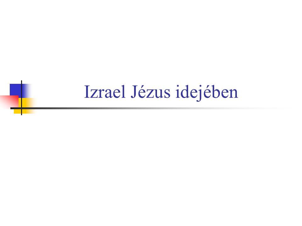 Izrael Jézus idejében
