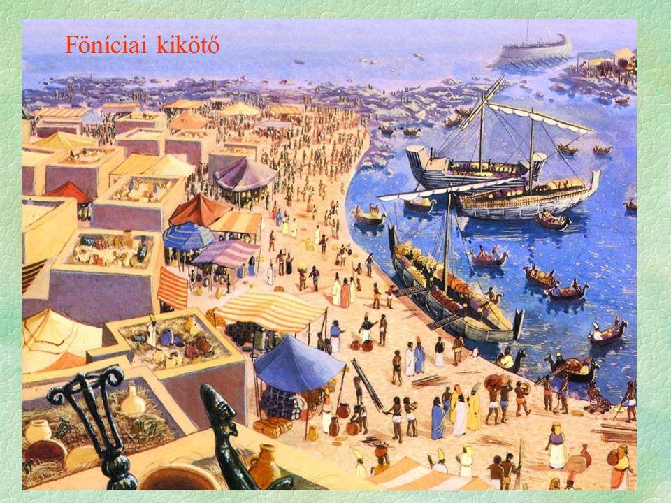 Föníciai kikötő
