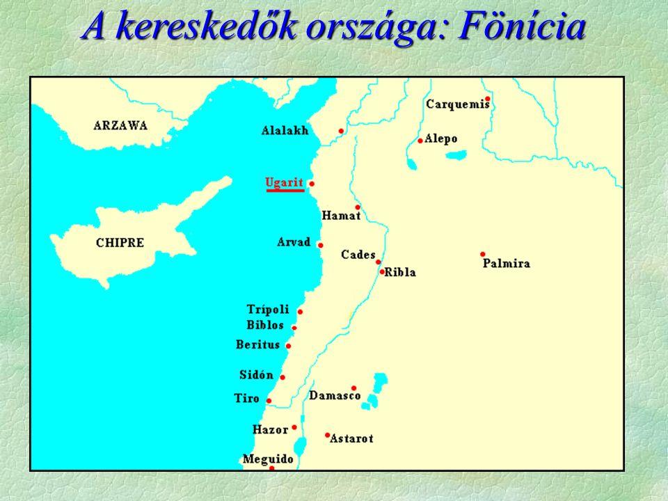 A kereskedők országa: Fönícia