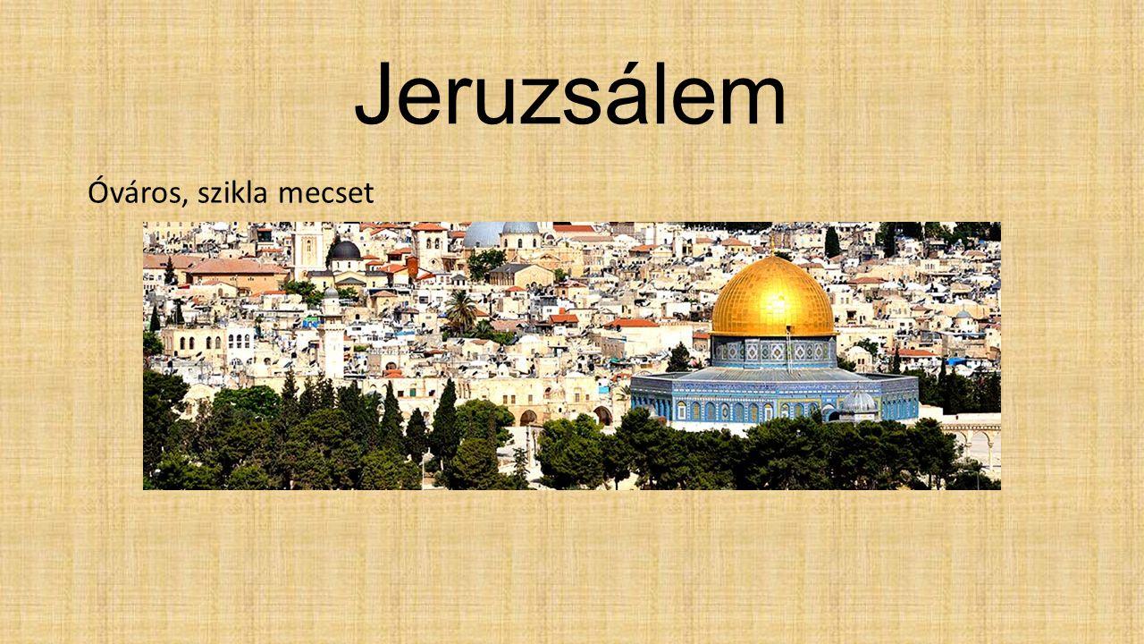 Jeruzsálem Óváros, szikla mecset
