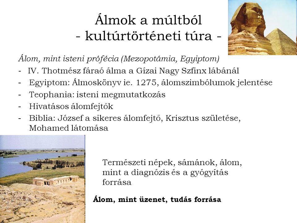 Álmok a múltból - kultúrtörténeti túra - Álom, mint isteni prófécia (Mezopotámia, Egyiptom) - IV.