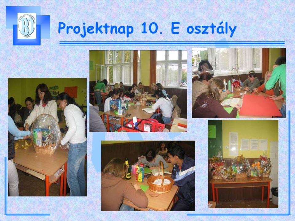 Projektnap 10. E osztály