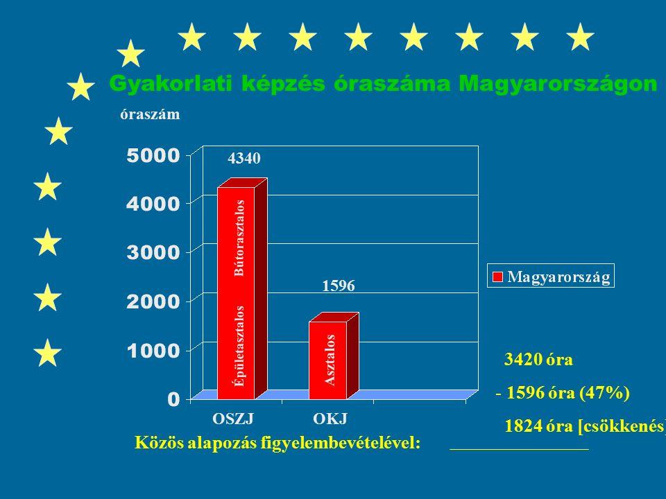 7 Válságjelenségek a magyar szakképzésben Magyarország tőkevonzó képességének elvesztése az európai piacon (olcsó és szakképzett munkaerő) Magyarország tőkevonzó képességének elvesztése az európai piacon (olcsó és szakképzett munkaerő) Fiatal szakképzett munkaerő krónikus hiánya akadályozza a fenntartható gazdasági fejlődésünket Fiatal szakképzett munkaerő krónikus hiánya akadályozza a fenntartható gazdasági fejlődésünket A gyakorlati képzési idő drasztikus csökkenése: NAT, OKJ A gyakorlati képzési idő drasztikus csökkenése: NAT, OKJ A magyar szakképzés túlzottan elméletorientált, a szakképzés iskolai modellje dominál A magyar szakképzés túlzottan elméletorientált, a szakképzés iskolai modellje dominál Gyakorlatigényes fizikai szakmák társadalmi leértékelődése Gyakorlatigényes fizikai szakmák társadalmi leértékelődése A gazdaságnak nincs tényleges ráhatása a képzés tartalmára és struktúrájára A gazdaságnak nincs tényleges ráhatása a képzés tartalmára és struktúrájára A képzés kimeneti szabályozása miatt a gyakorlati képzésben nincs gyártásközi ellenőrzés A képzés kimeneti szabályozása miatt a gyakorlati képzésben nincs gyártásközi ellenőrzés A szakképző iskolák finanszírozása kontra produktív A szakképző iskolák finanszírozása kontra produktív