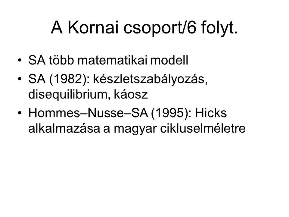 A Kornai csoport/6 folyt.