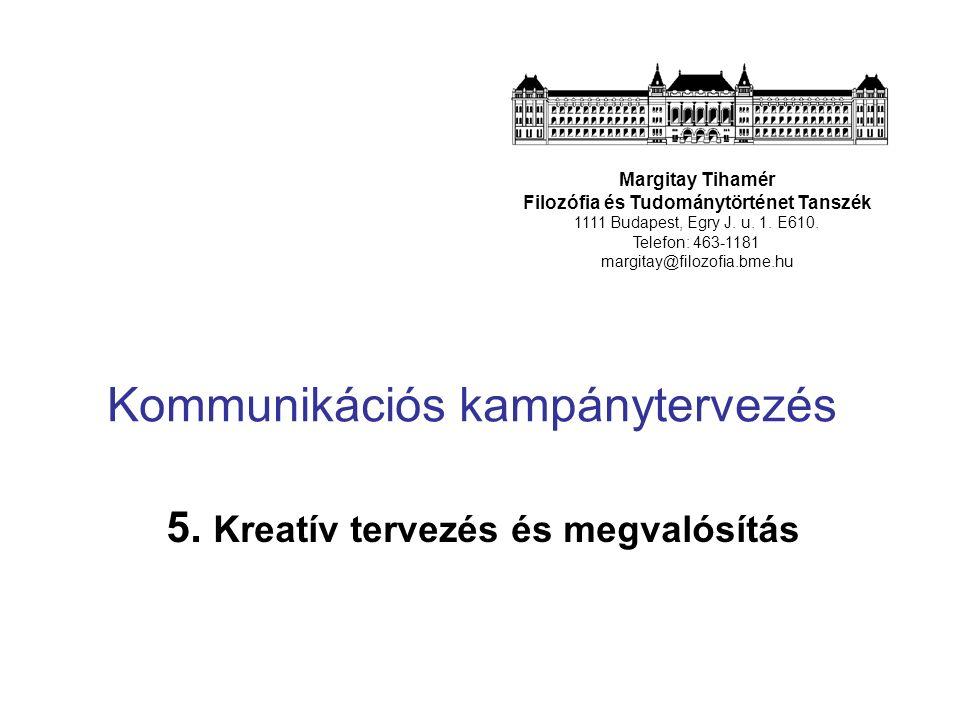 Kommunikációs kampánytervezés 5.