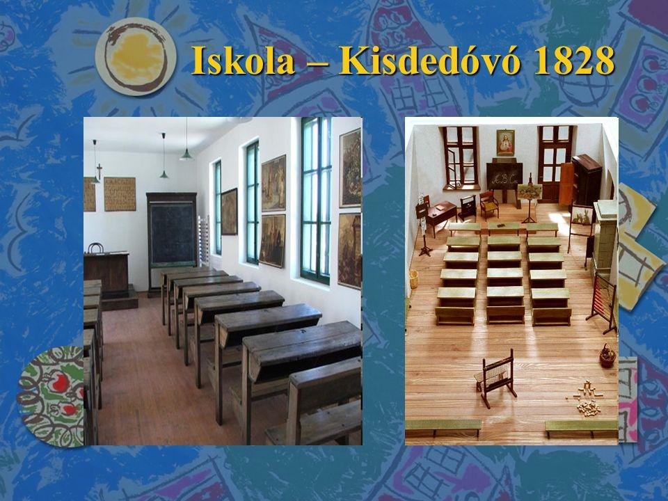 Iskola – Kisdedóvó 1828