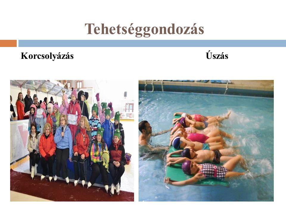 Tehetséggondozás Korcsolyázás Úszás