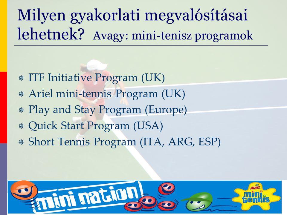 evolve9 Mike Barrell Budapest October 2005 Hol használhatjuk ezeket a programokat.