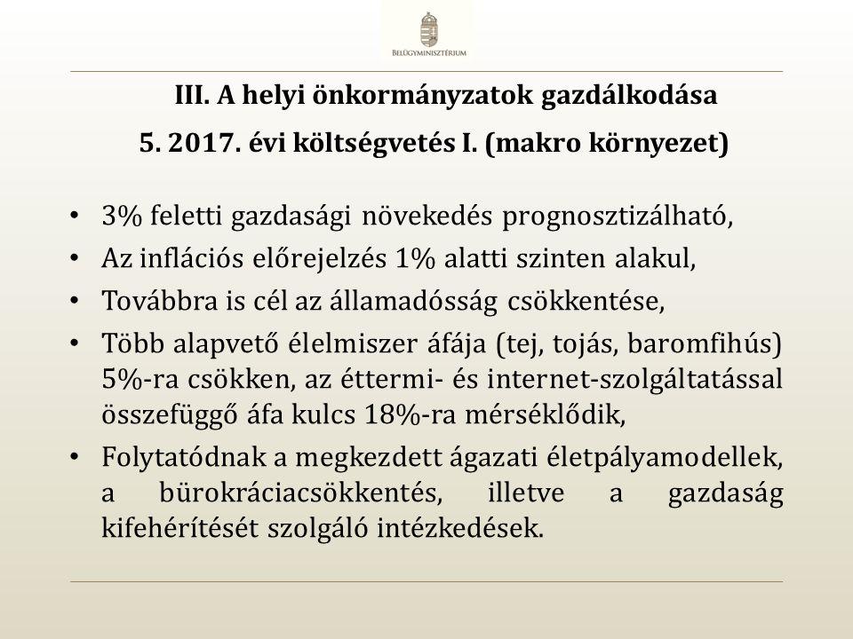 5. 2017. évi költségvetés I.