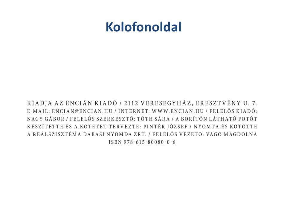 Kolofonoldal