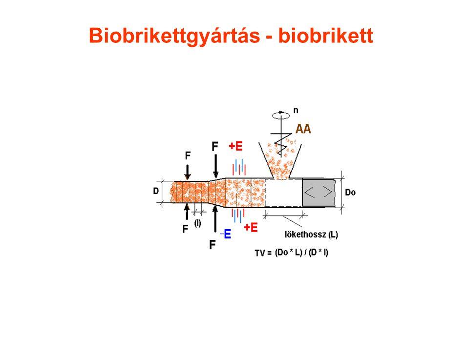 Biobrikettgyártás - biobrikett
