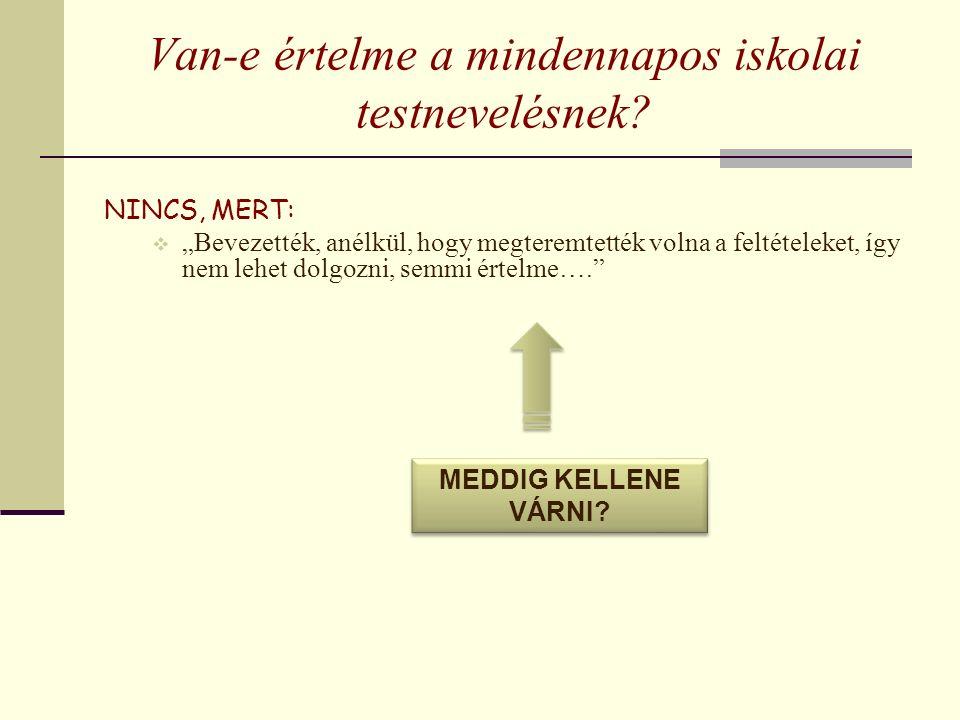 Ösztönzőleg hat a jogszabályi környezet 110/2012.(VI.4.) Korm.rend.