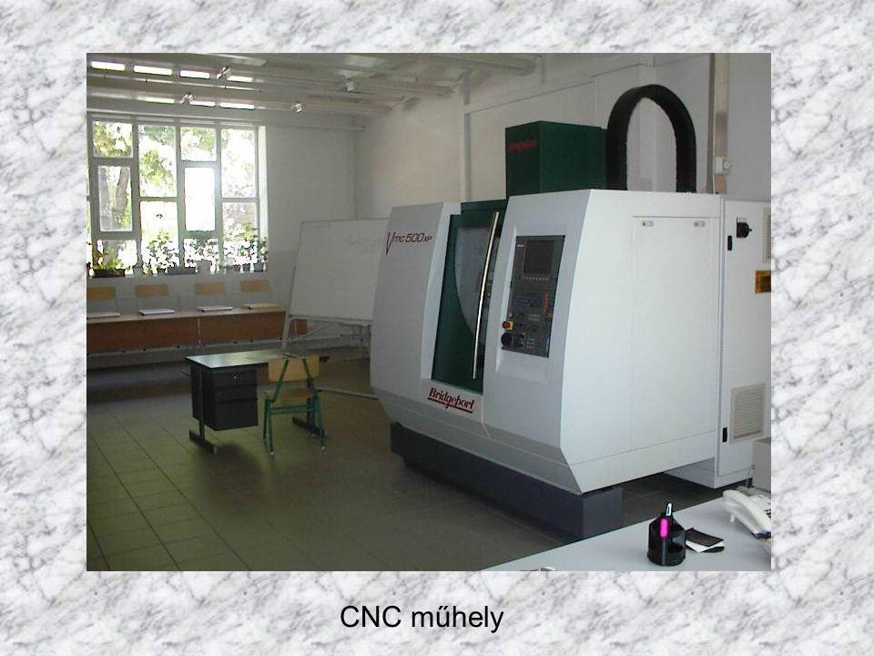CNC műhely