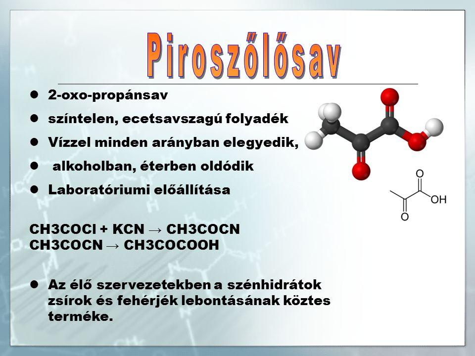 Oktadekánsav telített zsírsav Felhasználása: gyertyák, szappanok, műanyagok, olaj alapú festékek gyártása kozmetikumok előállítása csomósodást gátló anyagként alkalmazzák (E570) sóit csomósodást gátló anyagként használják: ammónium-sztearát (E571) magnézium-sztearát (E572) kalcium-sztearát (E572) alumínium-sztearát (E573)