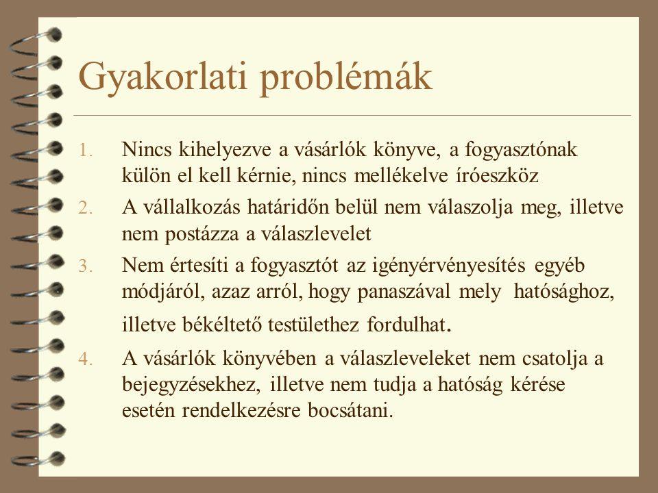 Gyakorlati problémák 1.