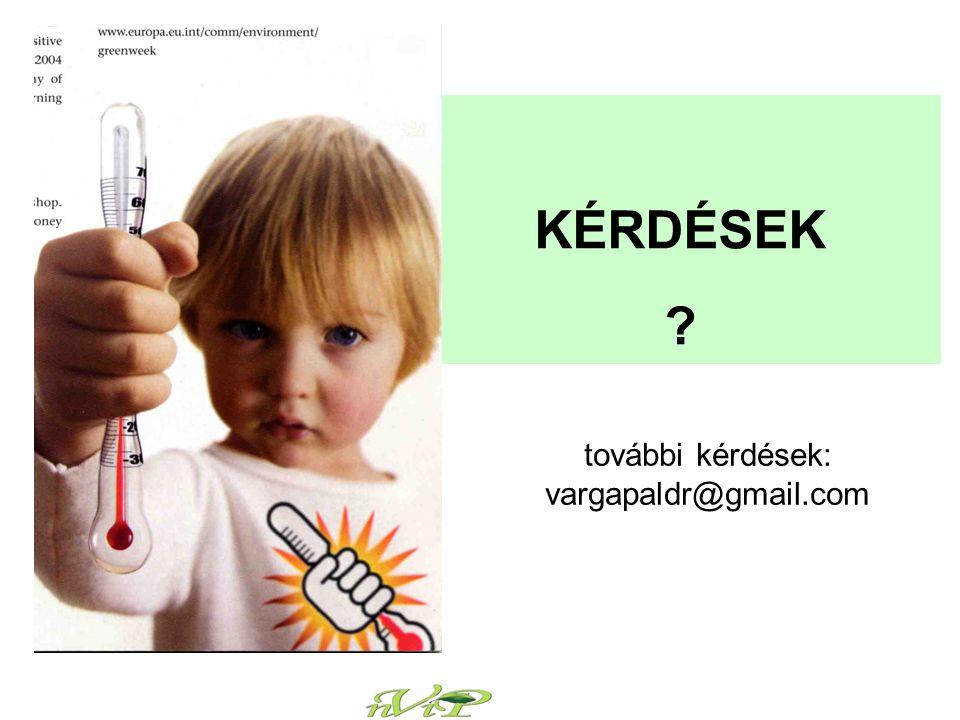 további kérdések: vargapaldr@gmail.com KÉRDÉSEK