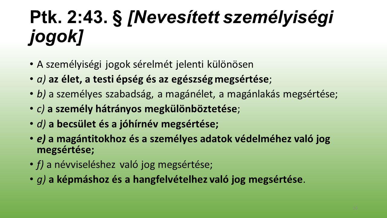 Ptk. 2:43.