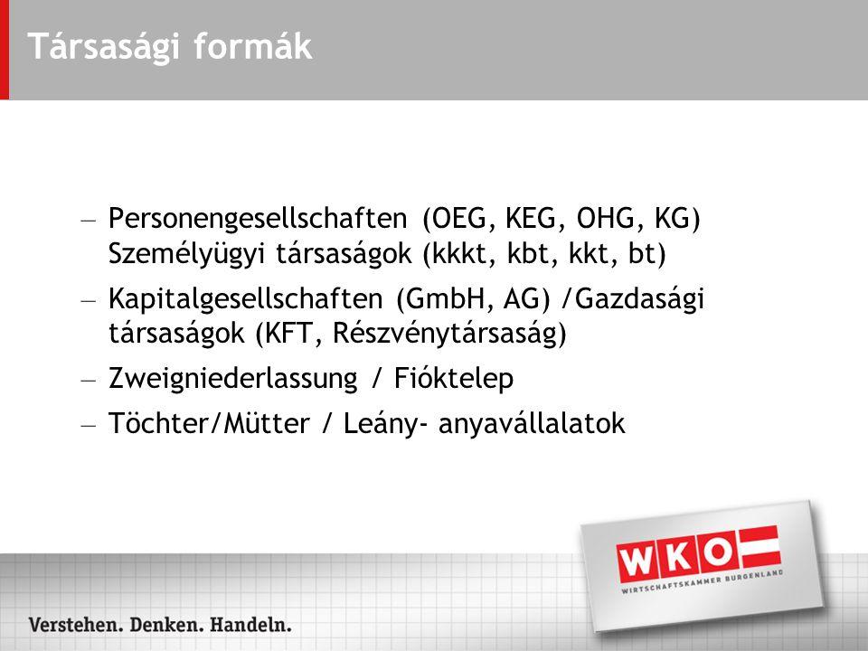 Iparengedély kiadása Iparügyi Hatóságok - Bécsben ill.