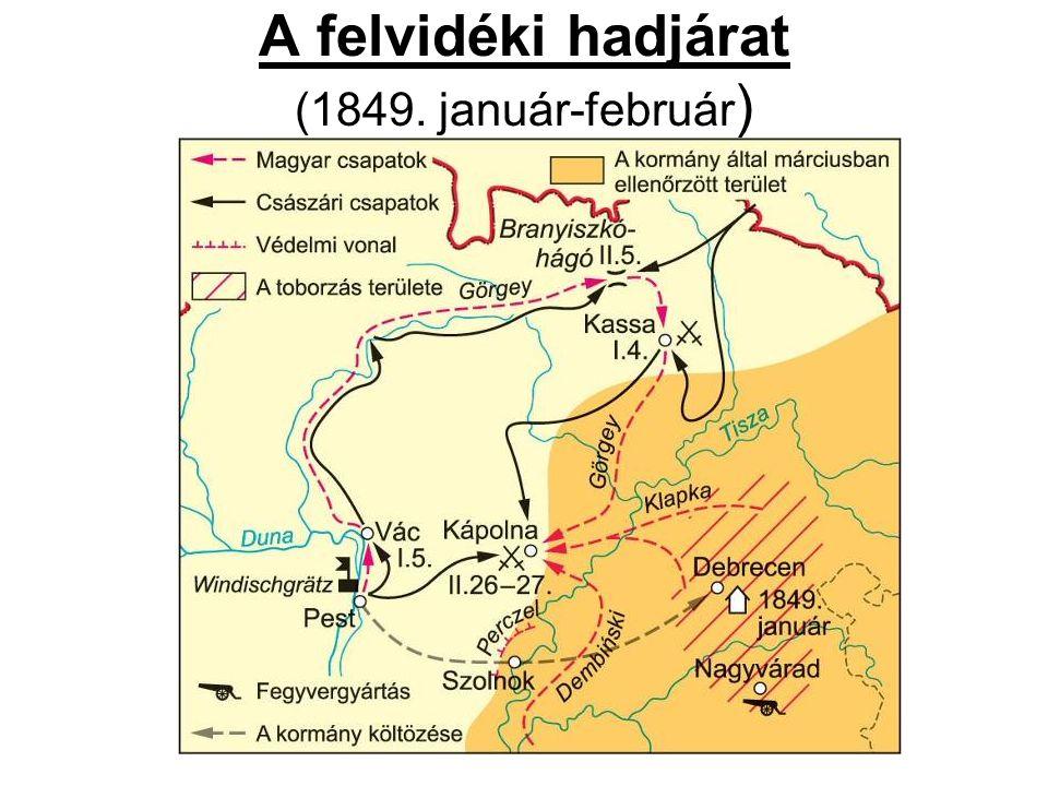 A felvidéki hadjárat (1849. január-február )