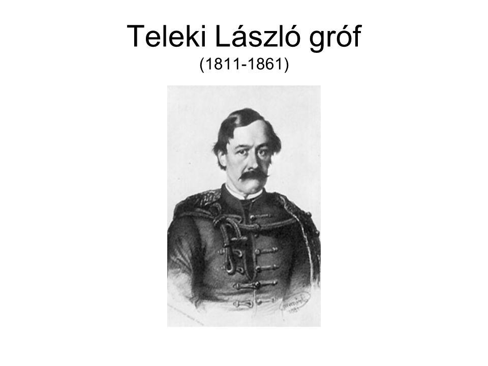 Teleki László gróf (1811-1861)