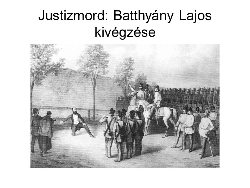 Justizmord: Batthyány Lajos kivégzése