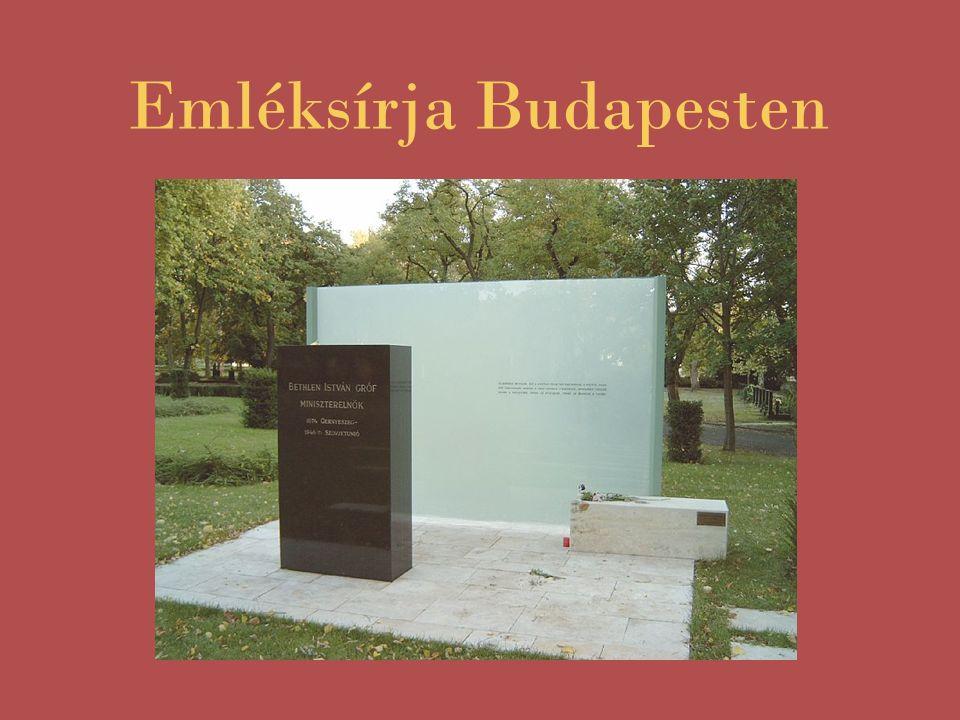 Emléksírja Budapesten
