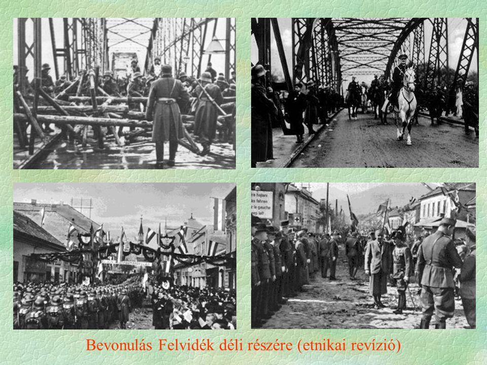 Bevonulás Felvidék déli részére (etnikai revízió)