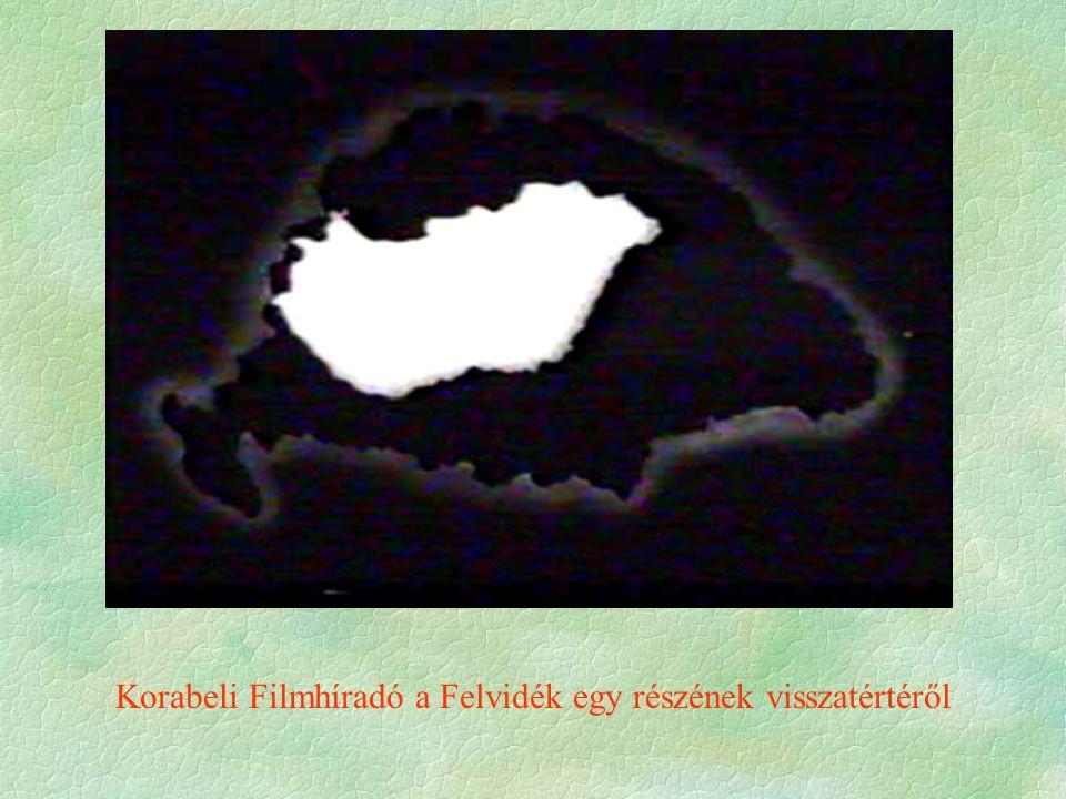 Korabeli Filmhíradó a Felvidék egy részének visszatértéről