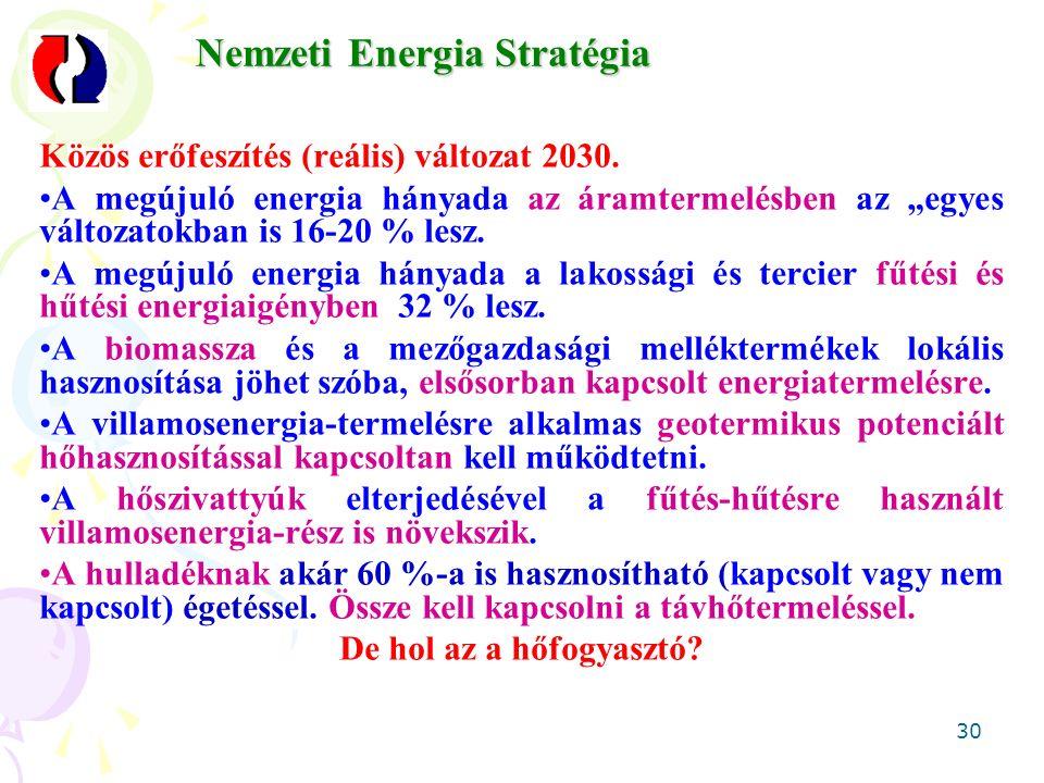 30 Közös erőfeszítés (reális) változat 2030.