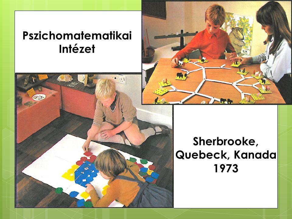 Pszichomatematikai Intézet Sherbrooke, Quebeck, Kanada 1973