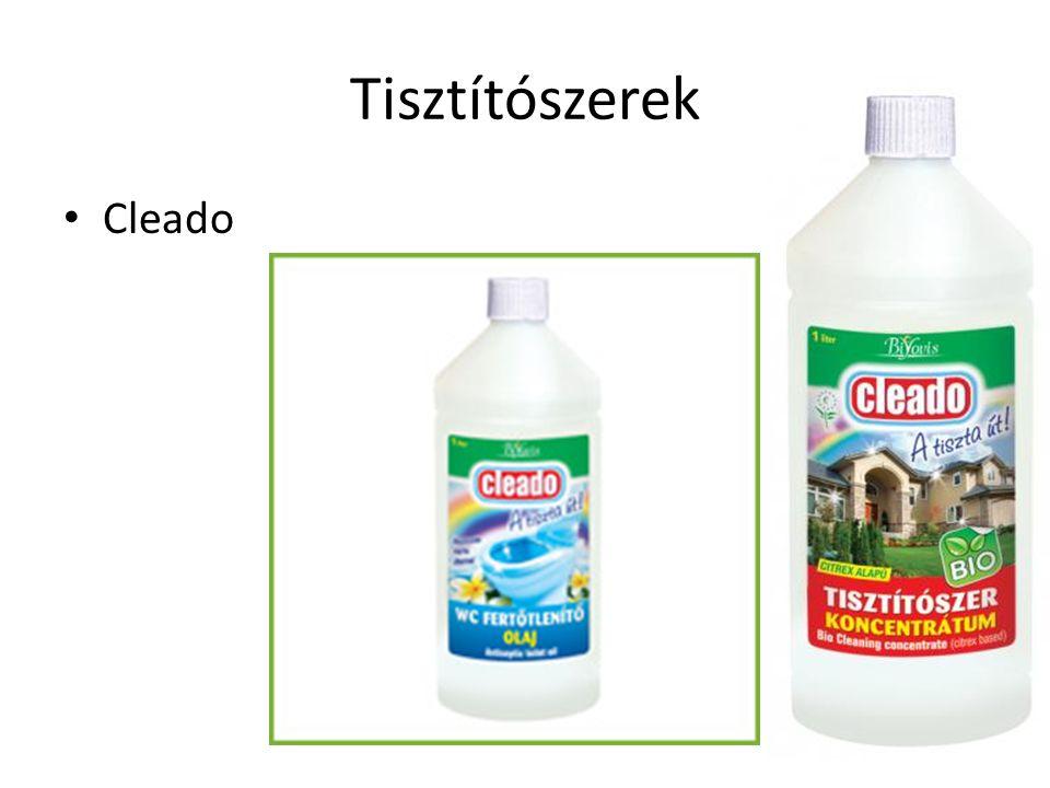 Tisztítószerek Cleado