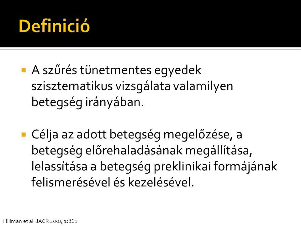 Muszbek N et al., Magyar Onkológia 2002;46:119