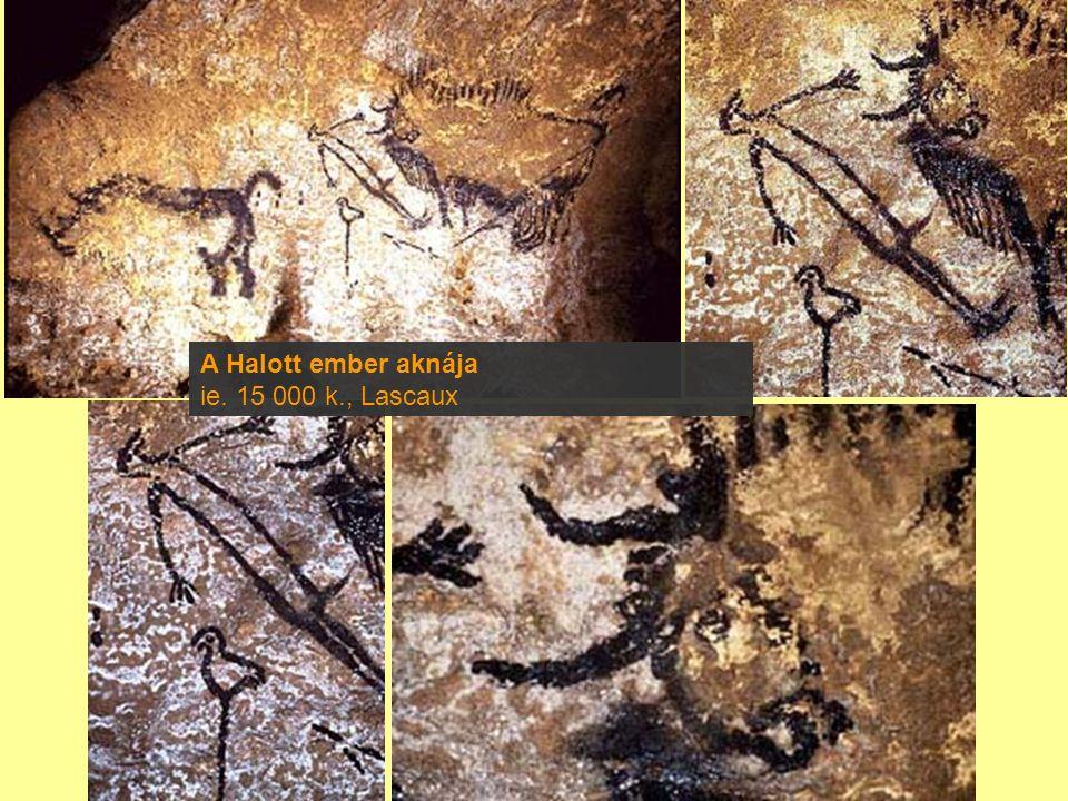A Halott ember aknája ie. 15 000 k., Lascaux