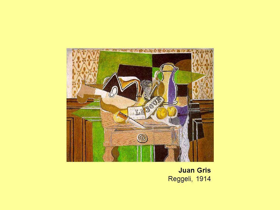 Juan Gris Reggeli, 1914