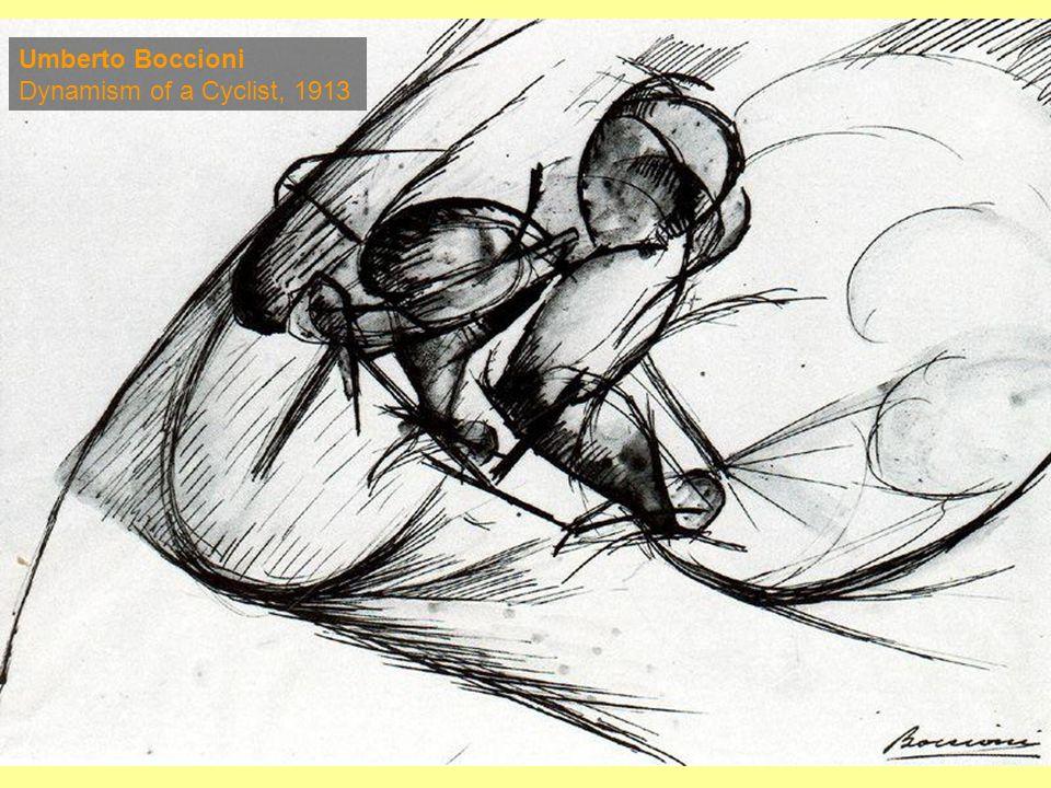Umberto Boccioni Dynamism of a Cyclist, 1913