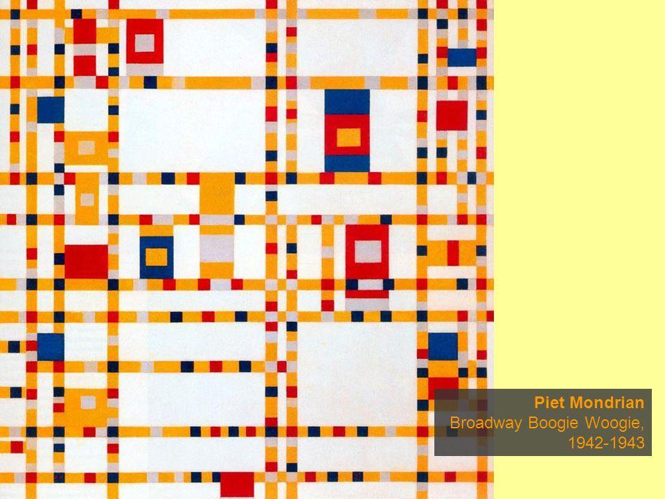 Piet Mondrian Broadway Boogie Woogie, 1942-1943