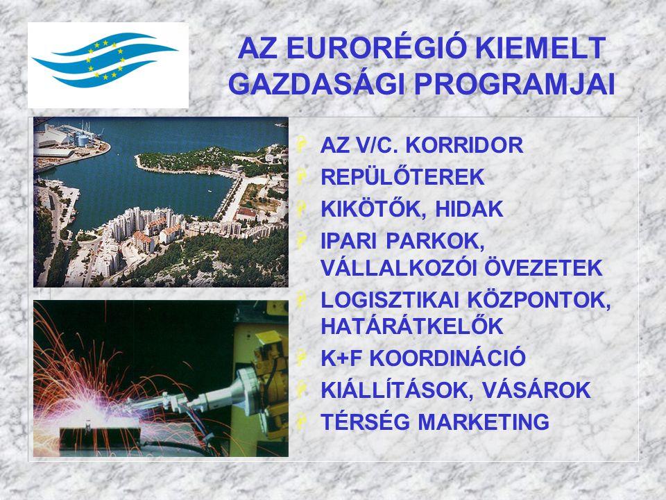 AZ EURORÉGIÓ KIEMELT GAZDASÁGI PROGRAMJAI HAZ V/C.