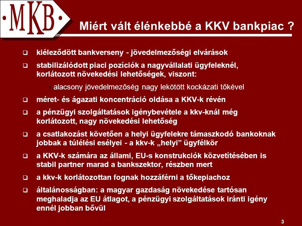 3 Miért vált élénkebbé a KKV bankpiac .