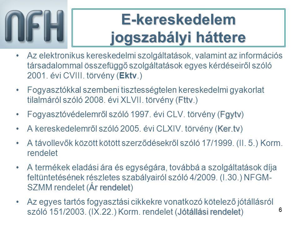 6 Az elektronikus kereskedelmi szolgáltatások, valamint az információs társadalommal összefüggő szolgáltatások egyes kérdéseiről szóló 2001. évi CVIII