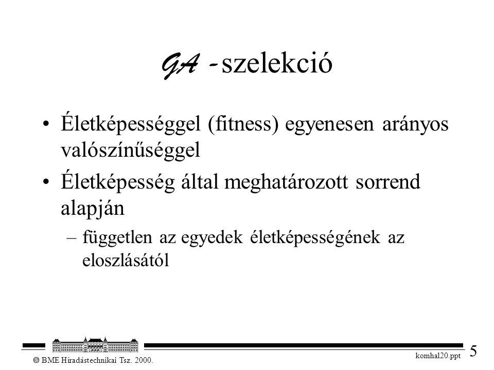 5  BME Híradástechnikai Tsz. 2000.