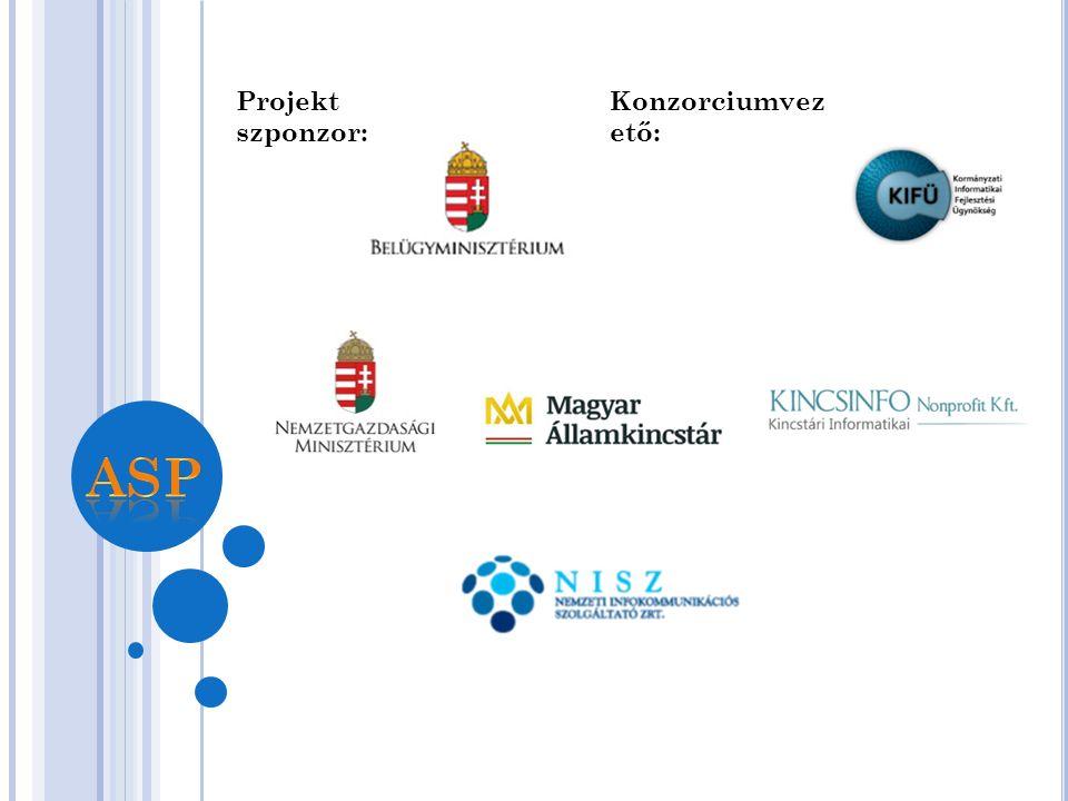 Konzorciumi tagok Konzorciumvez ető: Projekt szponzor: