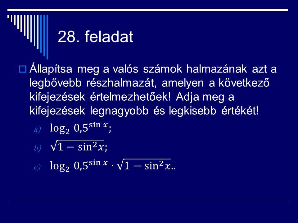 28. feladat