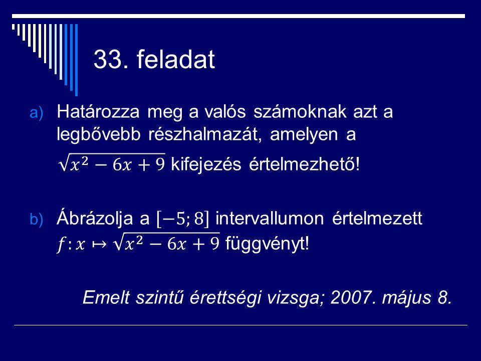 33. feladat