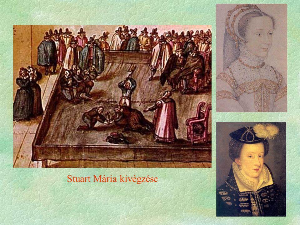 Stuart Mária kivégzése