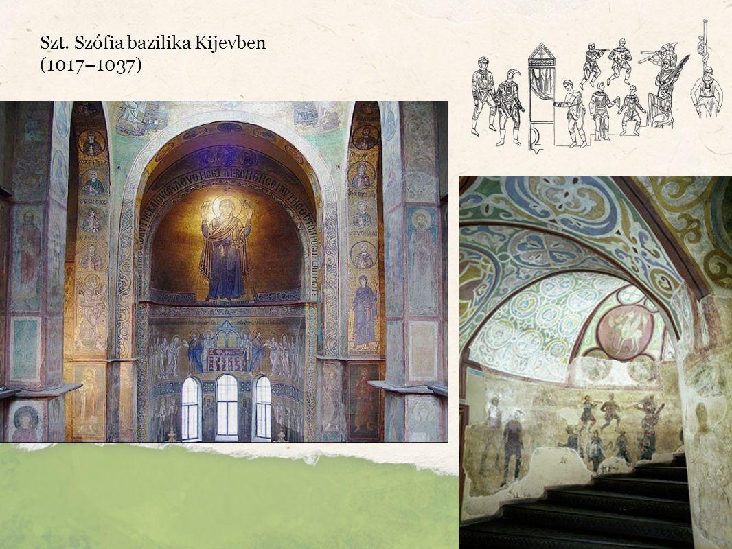 Szt. Szófia bazilika Kijevben (1017–1037)