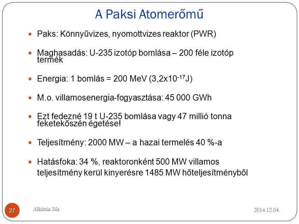 A Paksi Atomerőmű 2014.12.04.